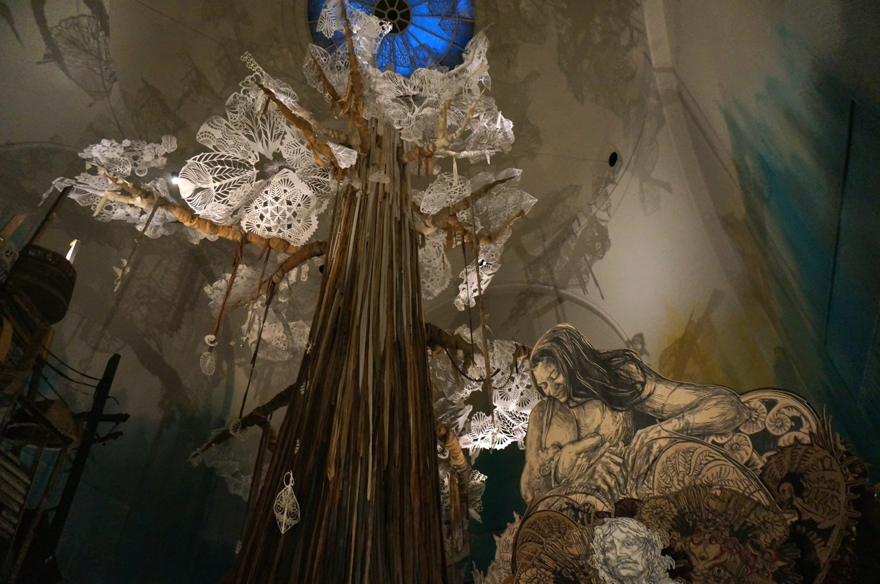 Swoon Brooklyn Museum Submerged Motherlands AM 01