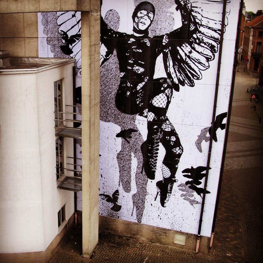 WK Interact Belgium mural AM 1