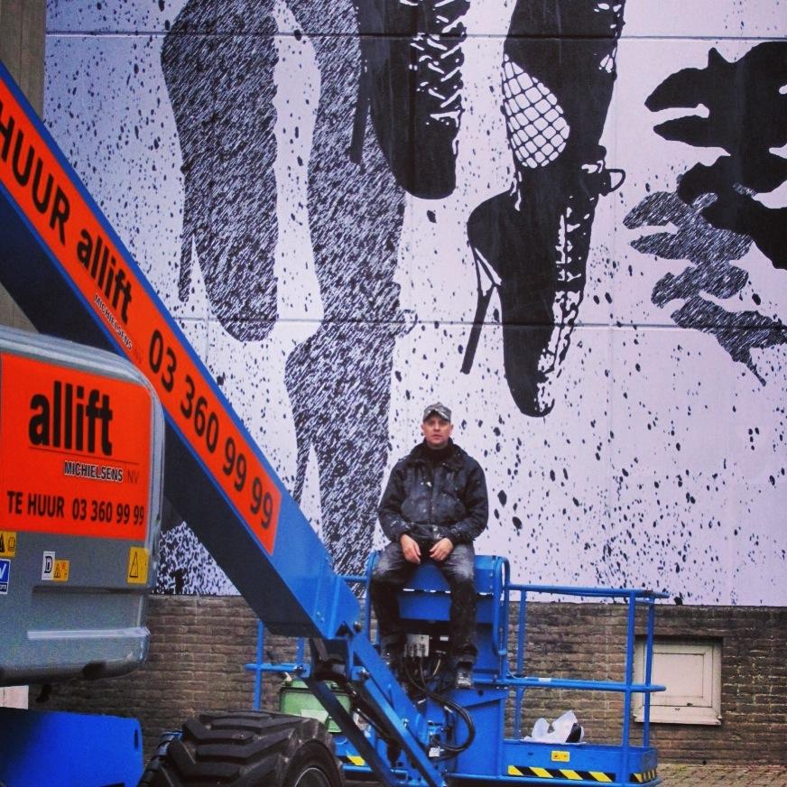 WK Interact Belgium mural AM 4