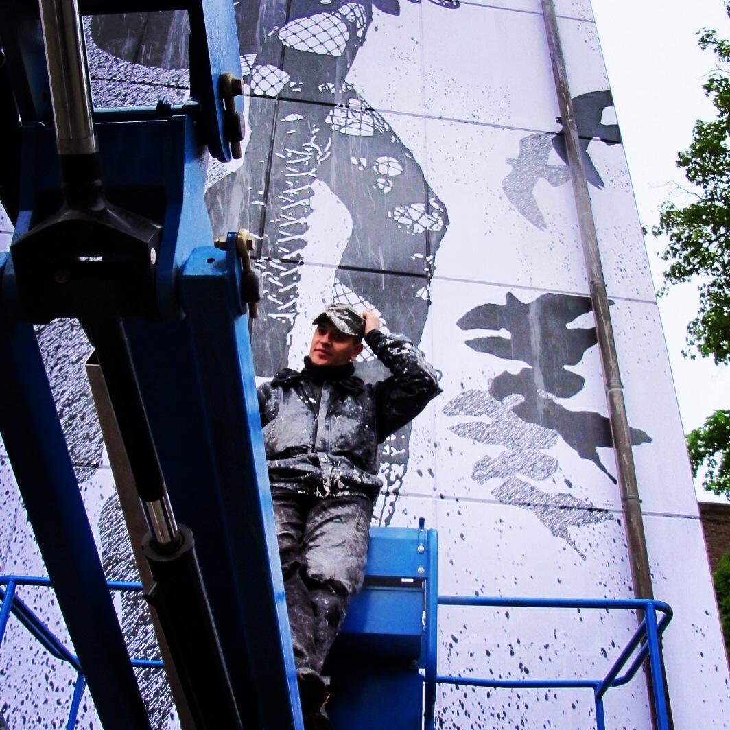 WK Interact Belgium mural AM 5