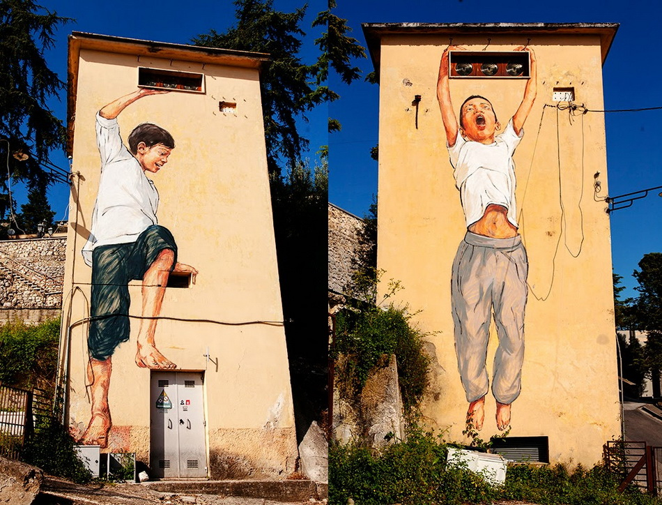 Ernest Zacharevich in Gaeta, Italy for For Memorie Urbane.