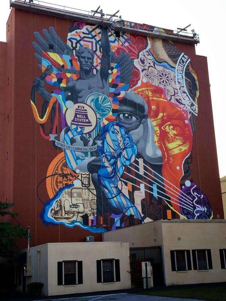Tristan in West Palm Beach, Florida. Photo via Street Art News.