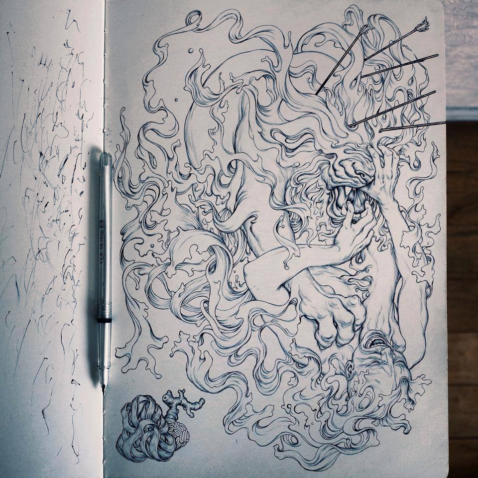 Album Covers James Jean X Linkin Park The Hunting Party Arrested Motion