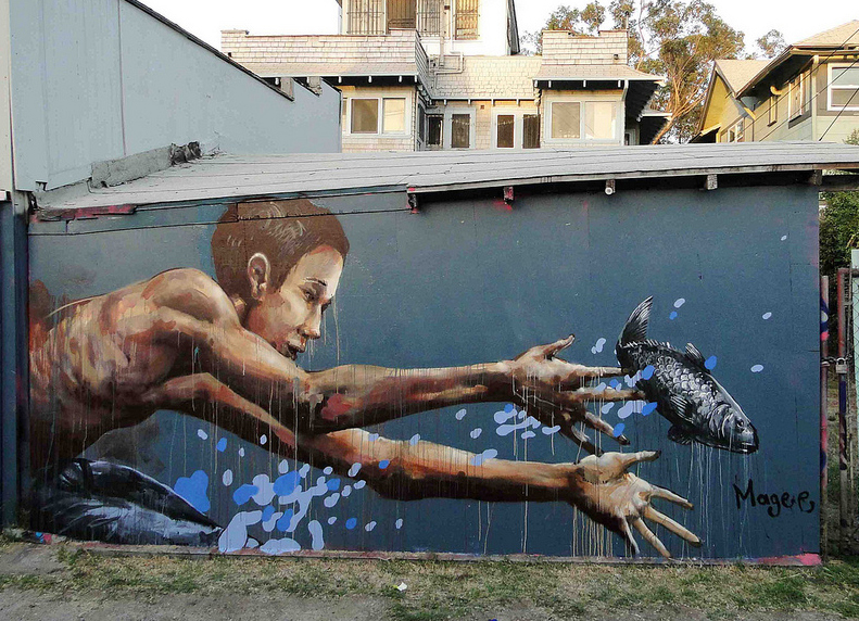 "Fintan Magee - ""The One That Got Away"" in Los Angeles. Via Savage Habit."
