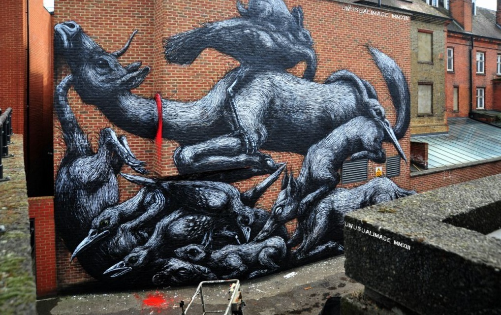 ROA in London. Photo by Unusual Image.