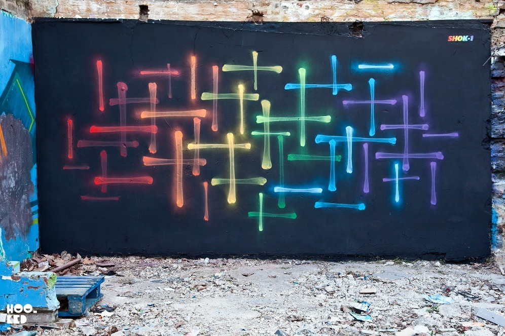 Shok-1 in East London. Photo by Hooked Blog.