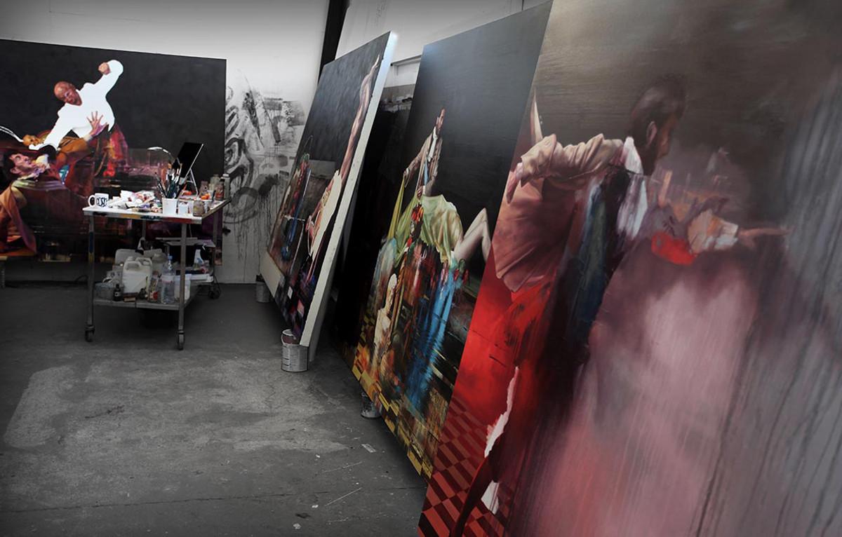 Conor Harrington Studio Visit: Eat And Delete Coming Soon