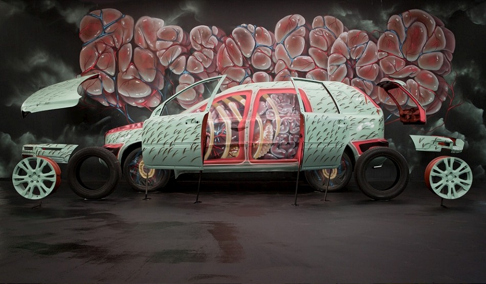 Nychos For Volvo Art Session « Arrested Motion