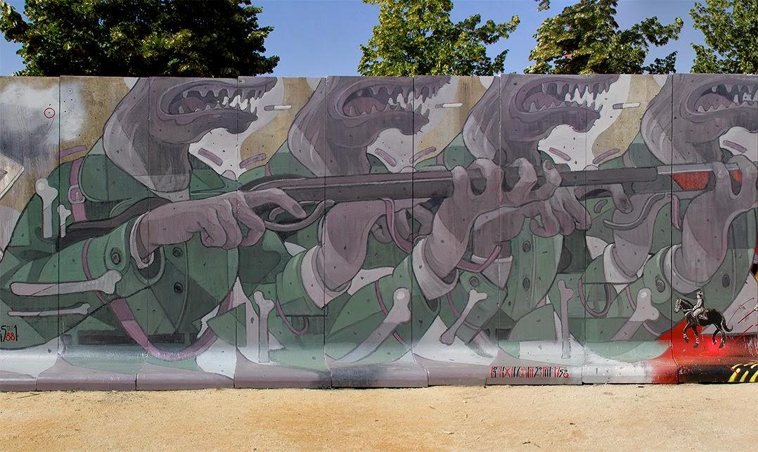 Aryz - Barcelona