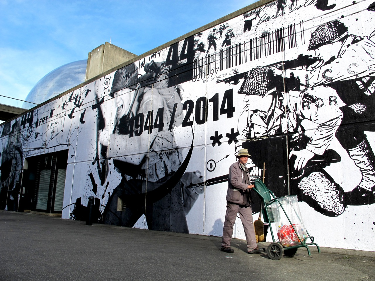 WK interact PARIS la Geode D-Day AM 01