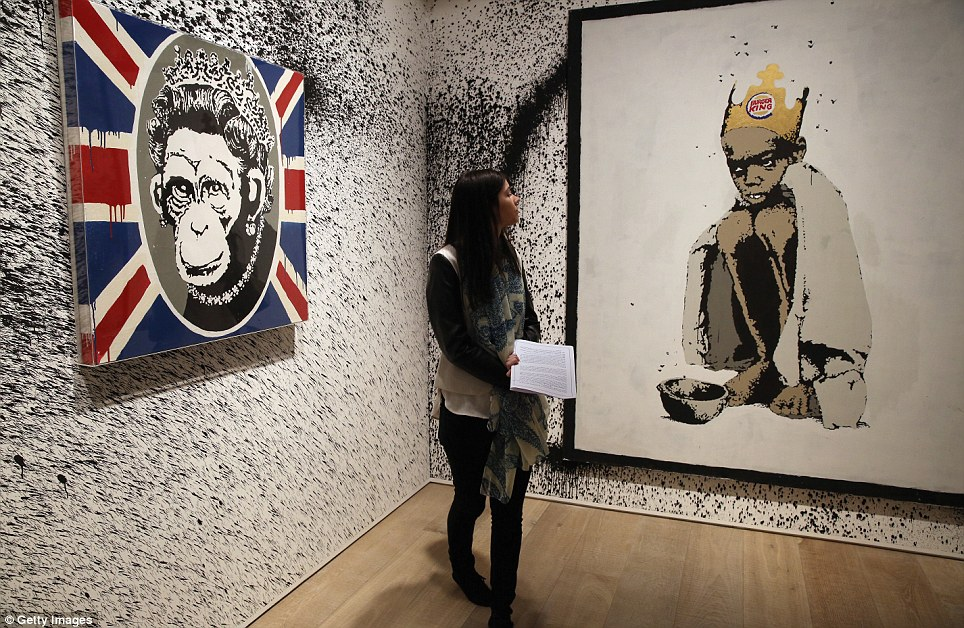 Preview Banksy The Unauthorised Retrospective