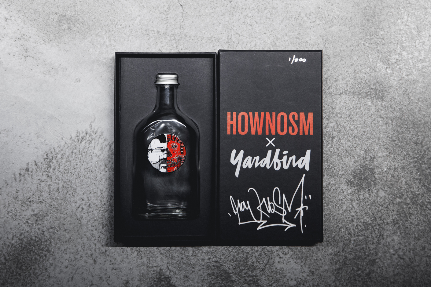 How Nosm Yard Bird Sake Bottle release AM 01