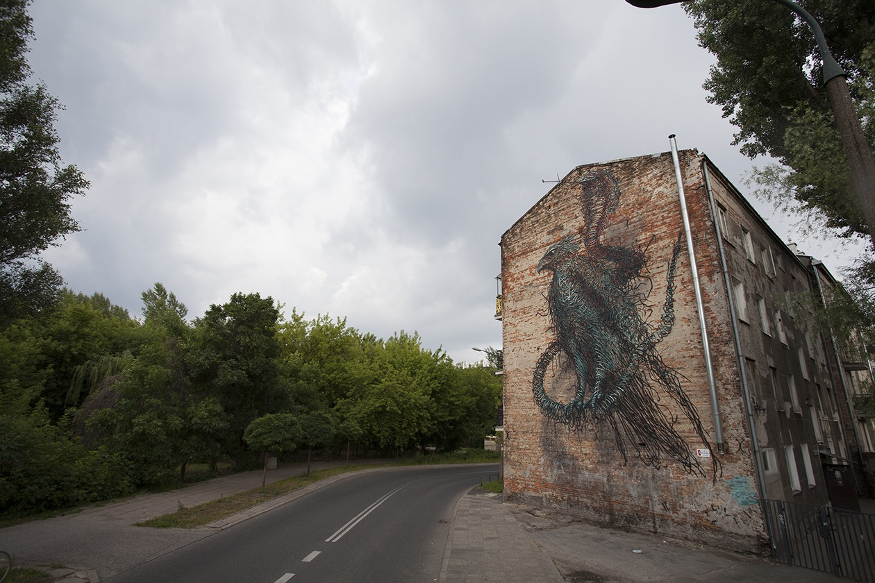 DALeast-'Dormant Antennae', Warsaw-Poland, 2014y