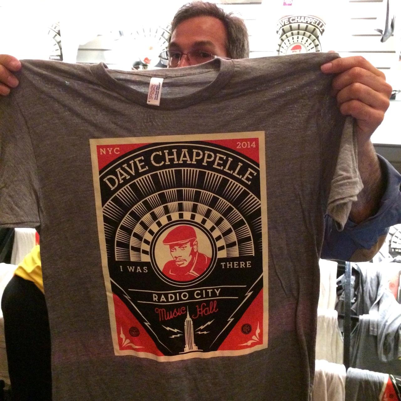Shepard Fairey Dave Chappelle Radio City AM 4