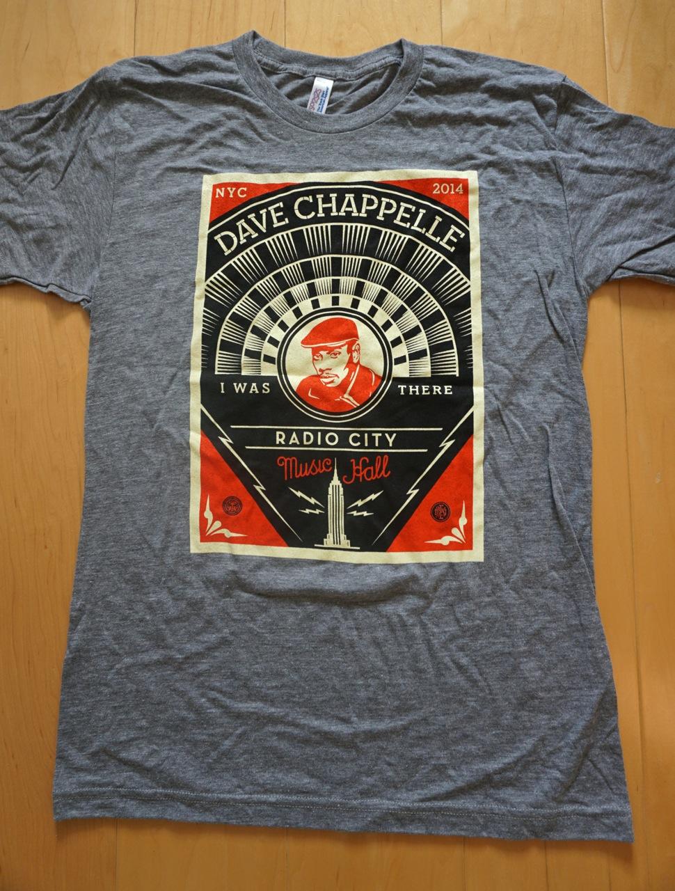 Shepard Fairey Dave Chappelle Radio City AM 8