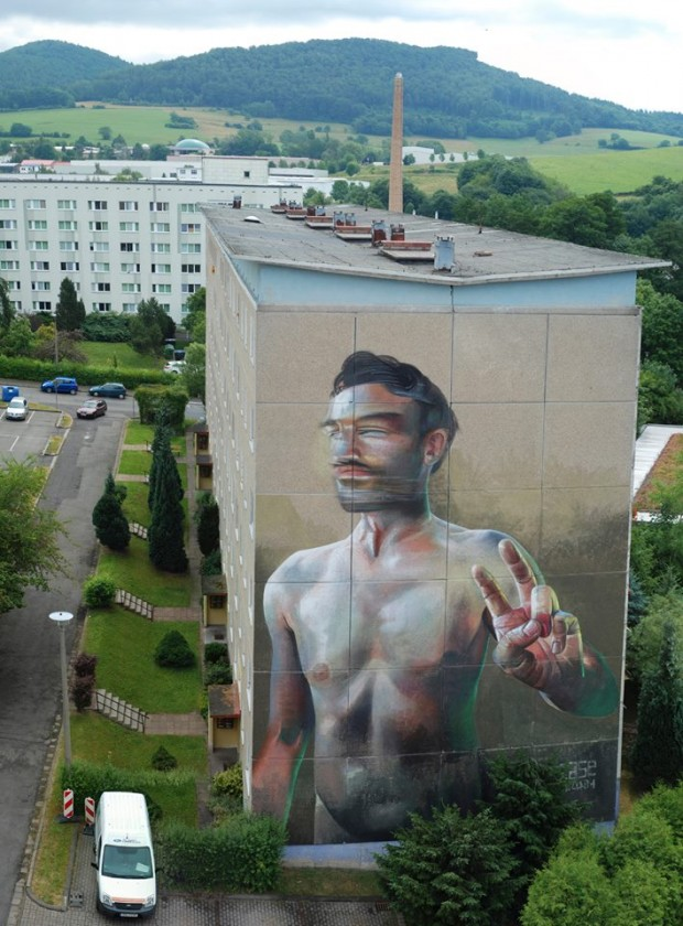 "Case - ""Distant Natives"" for the Wallcome Project in Schmalkalden, Germany. Photo via Savage Habit."