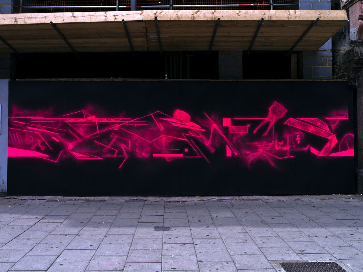 Shok-1 x Remi Rough in London.