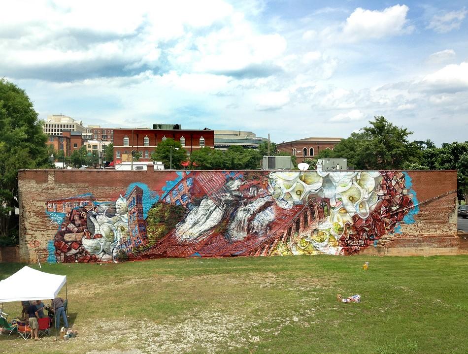 Gaia for #yearofaltruism in Greenville, South Carolina.