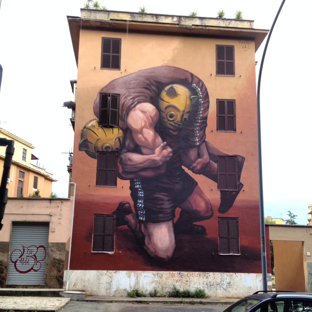 Jaz in Rome, Italy.