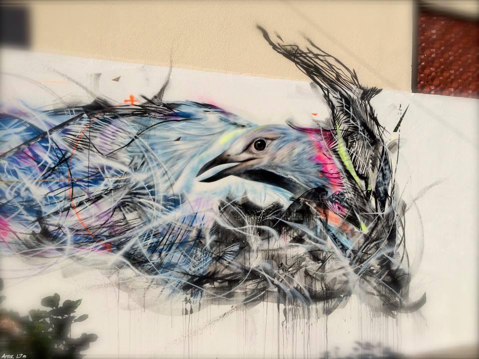 L7m in Sao Paulo, Brazil. Via Street Art Utopia.