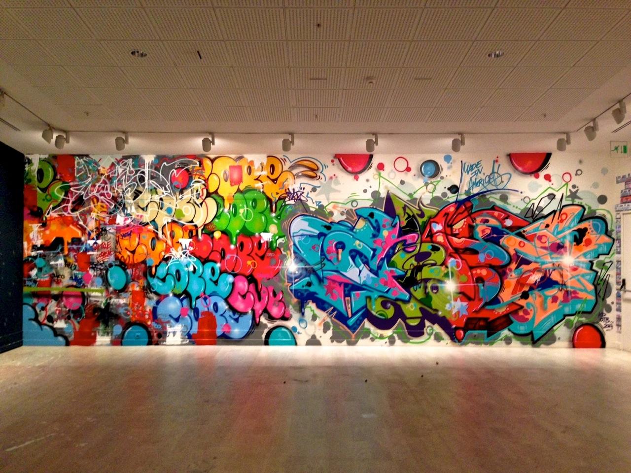 "Language In 45 And 47 Stella Street: Openings: ""Language Of The Wall: Graffiti / Street Art"