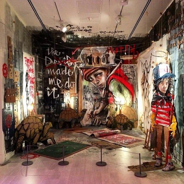 Pera Museum Language Wall Graffiti AM 01