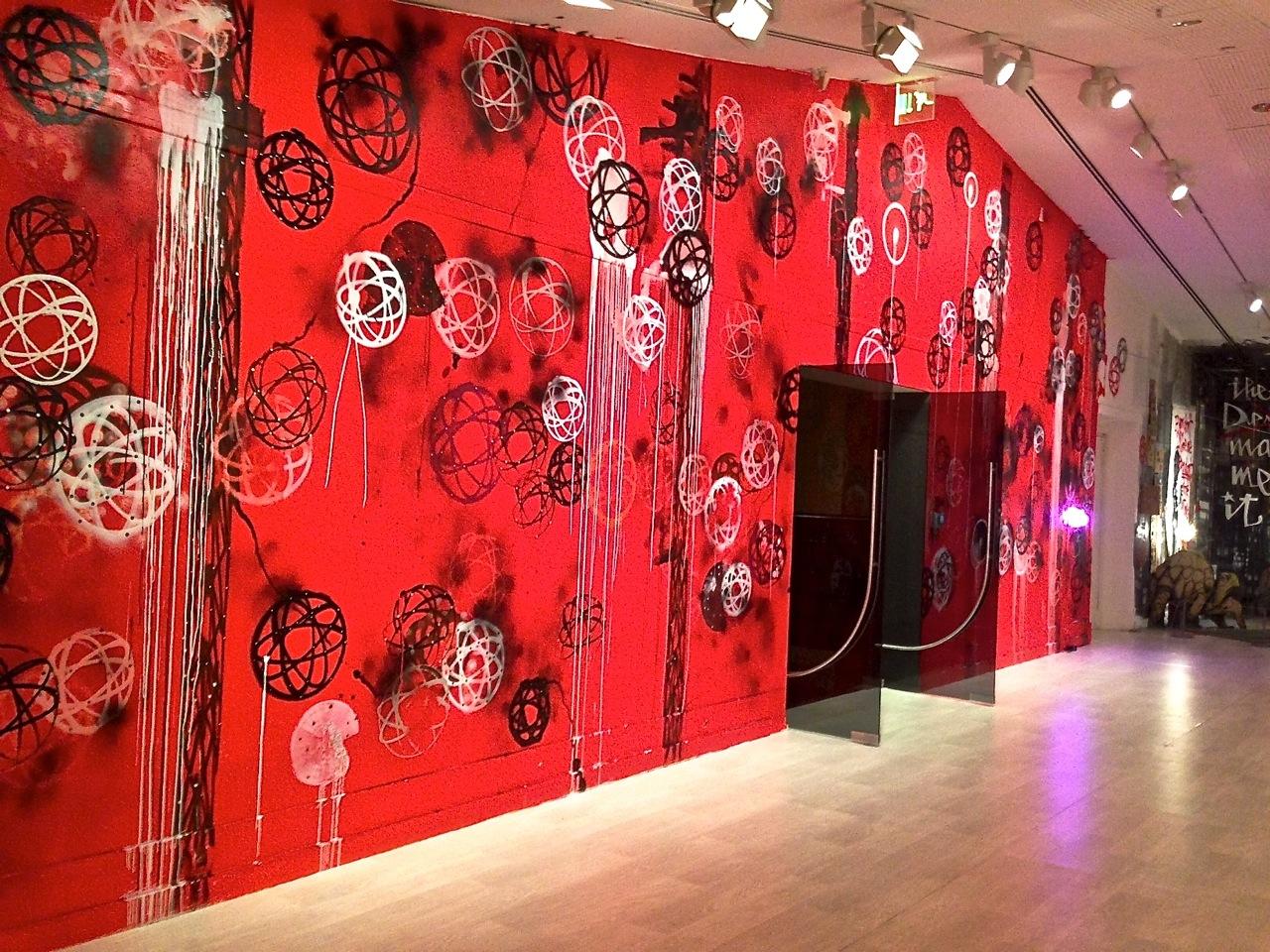 Grafiti wall red - Openings Language Of The Wall Graffiti Street Art Pera Museum Arrested Motion