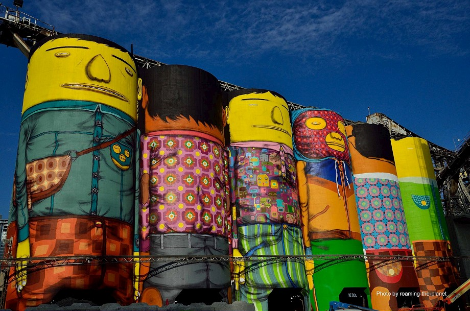 Streets os gemeos vancouver part ii arrested motion for Mural vancouver