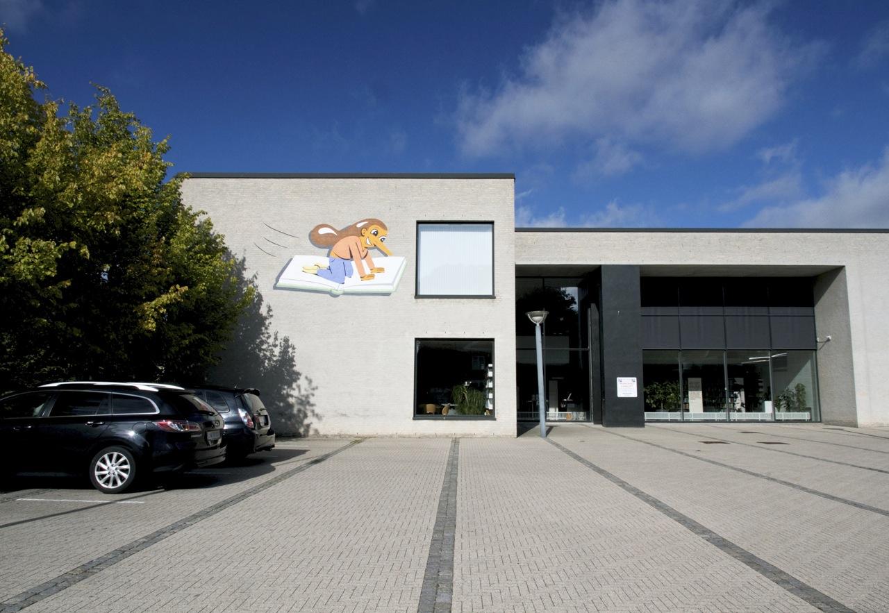 HuskMitNavn in Denmark for Holbæk Art. Photo by Henrik Haven.