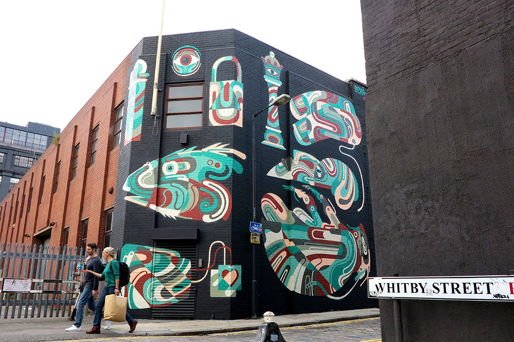 Reka in London (Shoreditch).