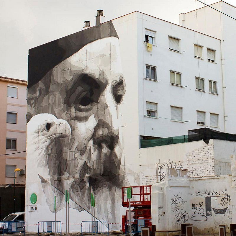 Ino - Zaragoza, Spain for Asalto Festival