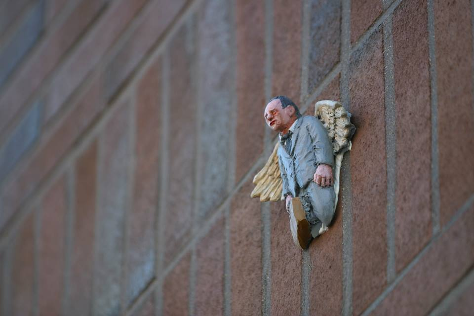 Isaac Cordal - Boras, Sweden for No Limit Boras Festival