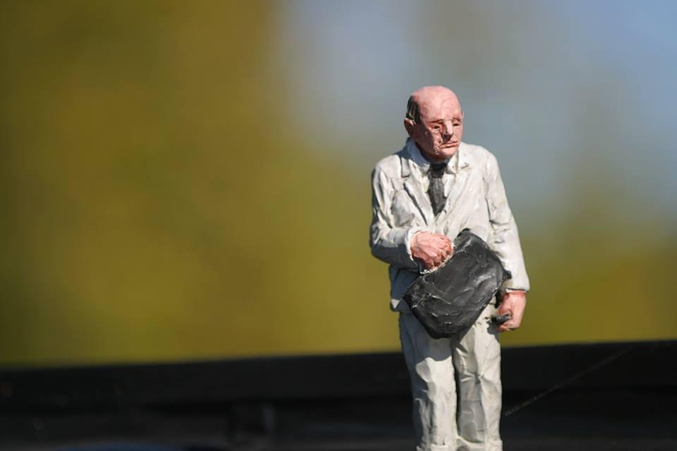Isaac Cordal - Boras, Sweden for No Limit Boras Festival