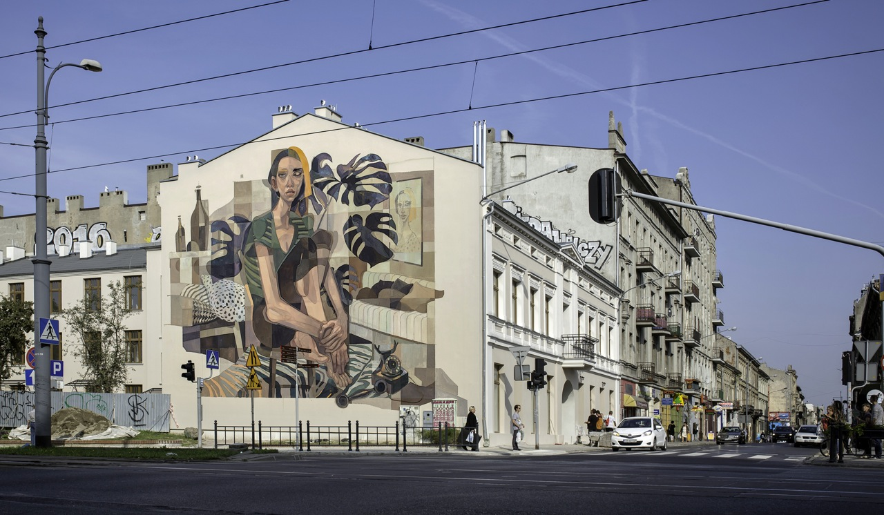 Morik for  Galeria Urban Forms project in Lodz, Poland.