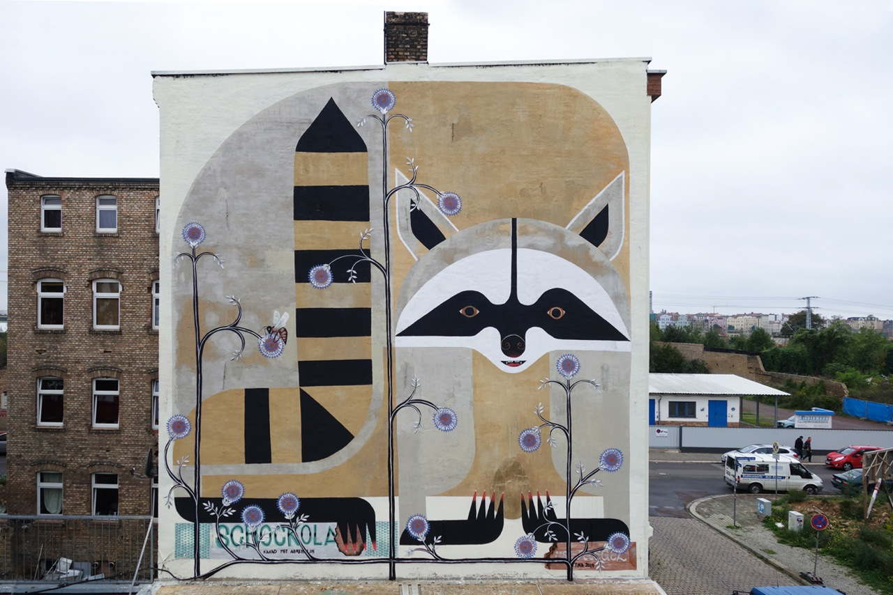 TIKA for All You Can Paint Festival in Halle, Germany.