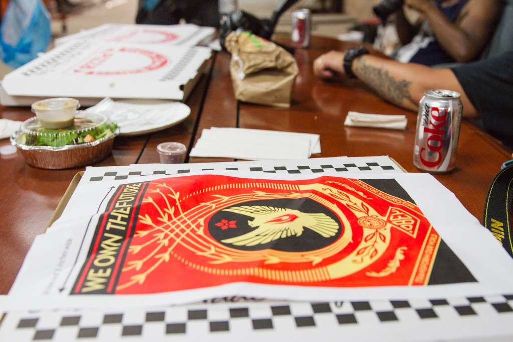 Shepard Fairey Hennessy Art Mural NYC AM 10