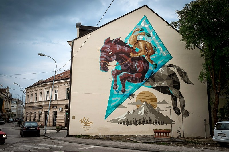 Vidam - Prijedor Bosnia (via StreetArtNews.net)