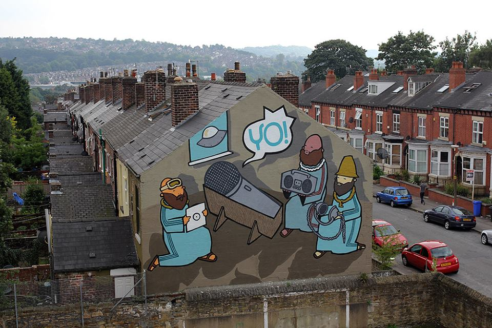 Kid Acne - Sheffield, UK for Festival Of The Mind