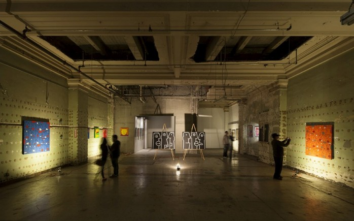 Thierry-Noir-Los-Angeles-Exhibition-Howard-Griffin-Gallery-7