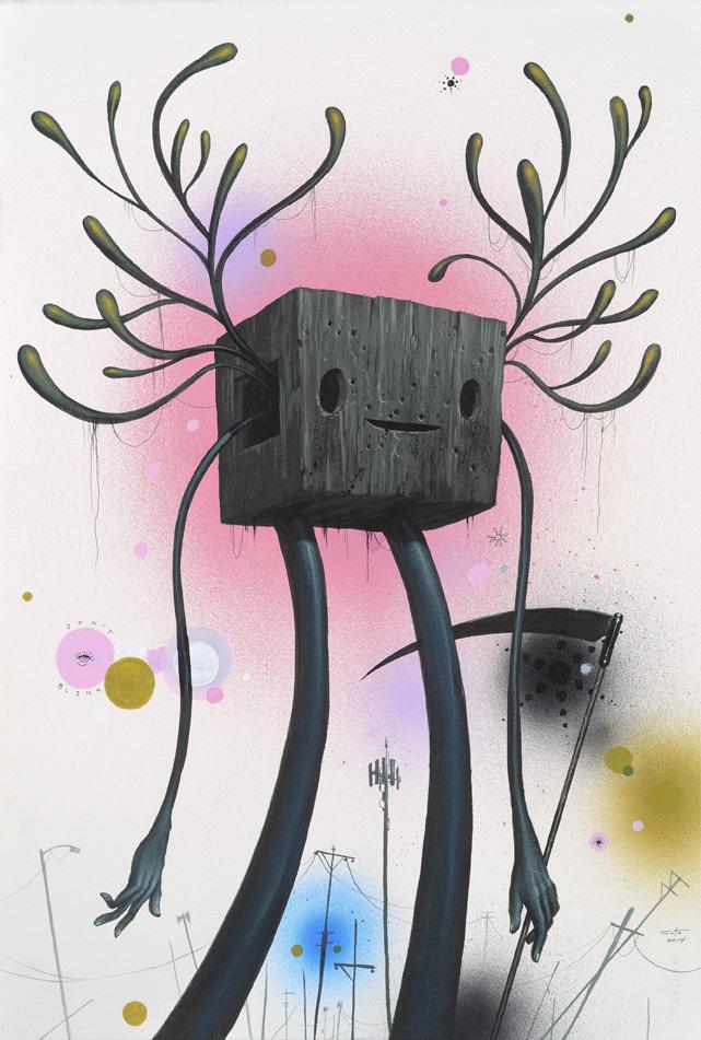 Jeff Soto_Grim Reaper_56 x 38 cm