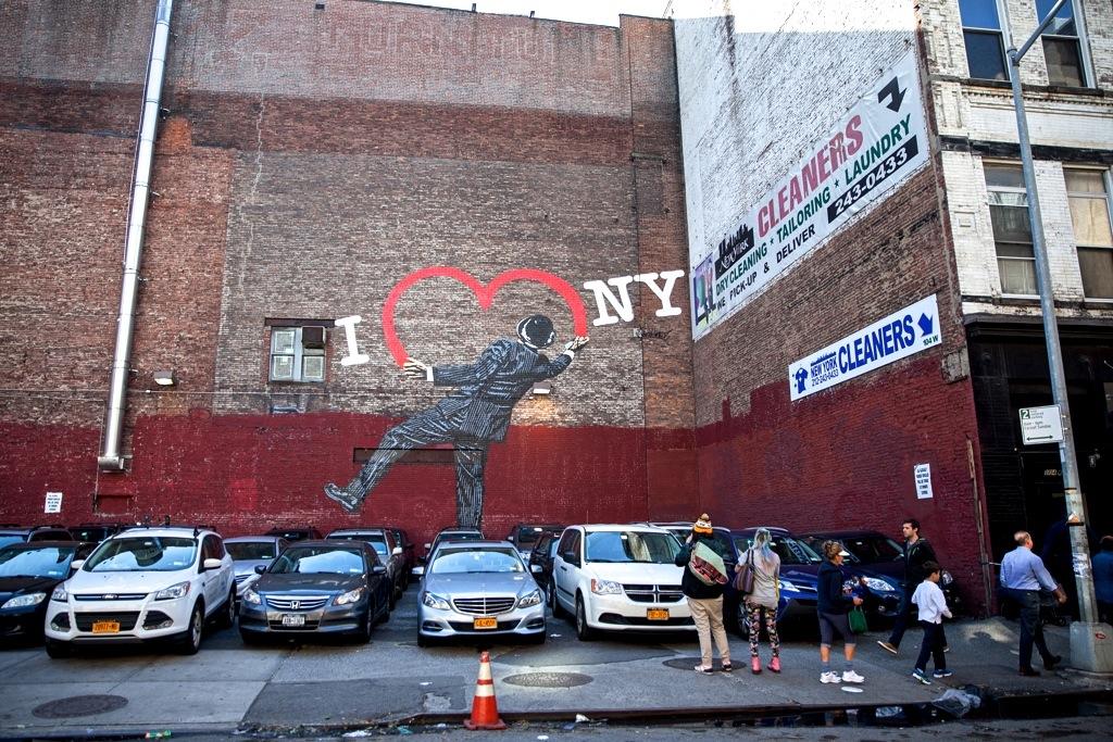 Nick Walker Love Vandal NYC AM 1