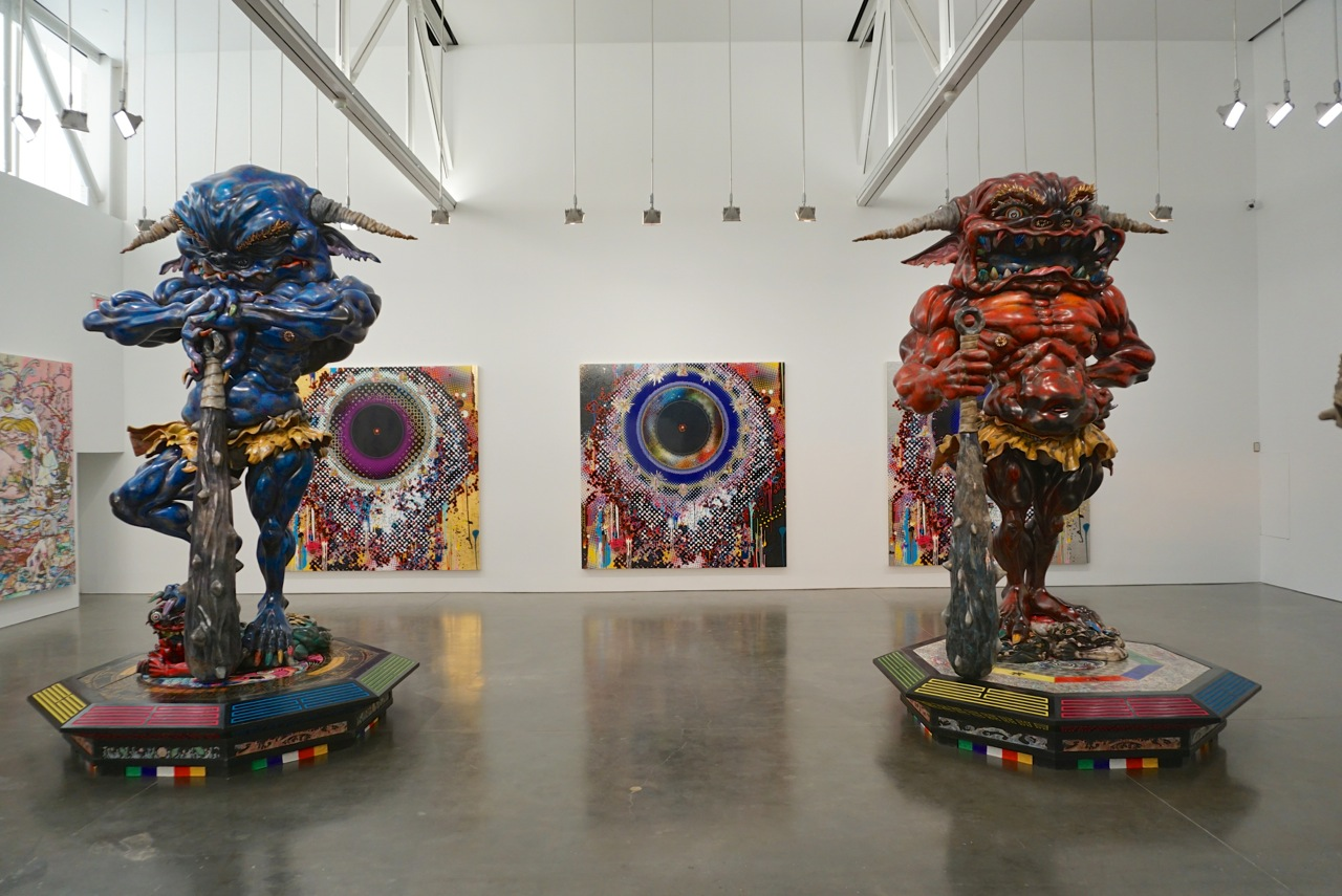 Takashi Murakami Gagosian NYC Rainbow AM 01