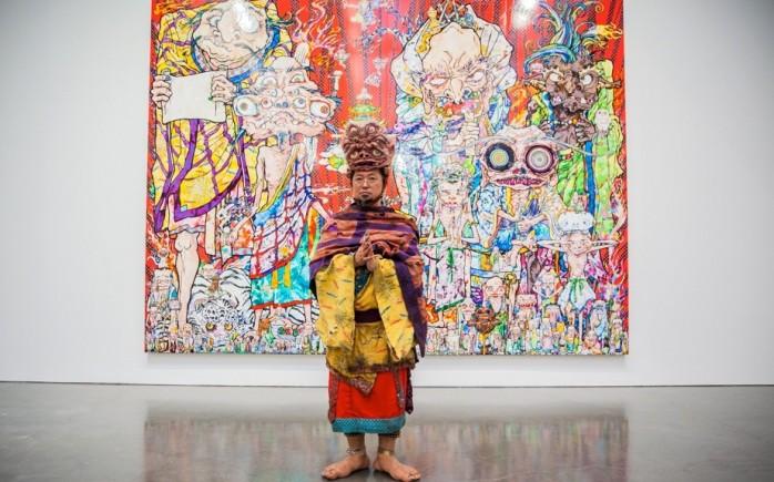 Takashi Murakami Gagosian NYC Rainbow AM 29