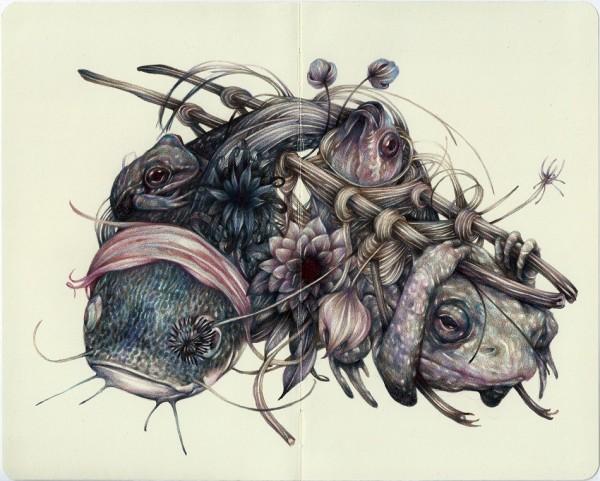 "Previews: Marco Mazzoni – ""Immune"" @ Thinkspace Gallery"