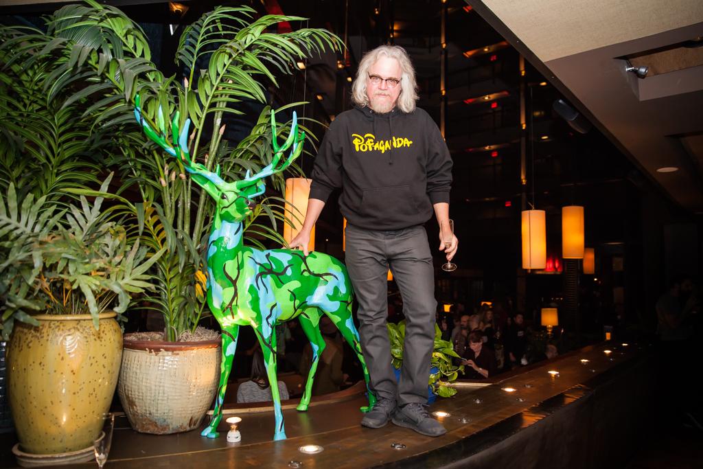 "Openings: Ron English – ""Evolutionary Alternatives"" @ Tribeca Grand"
