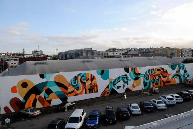 Reka in San Francisco. Photo by Colin M. Day via Hi-Fructose.