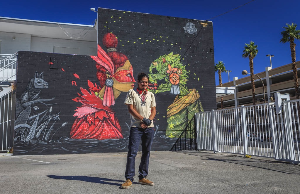 Saner in Las Vegas for Life Is Beauitiful. Photo by Birdman.