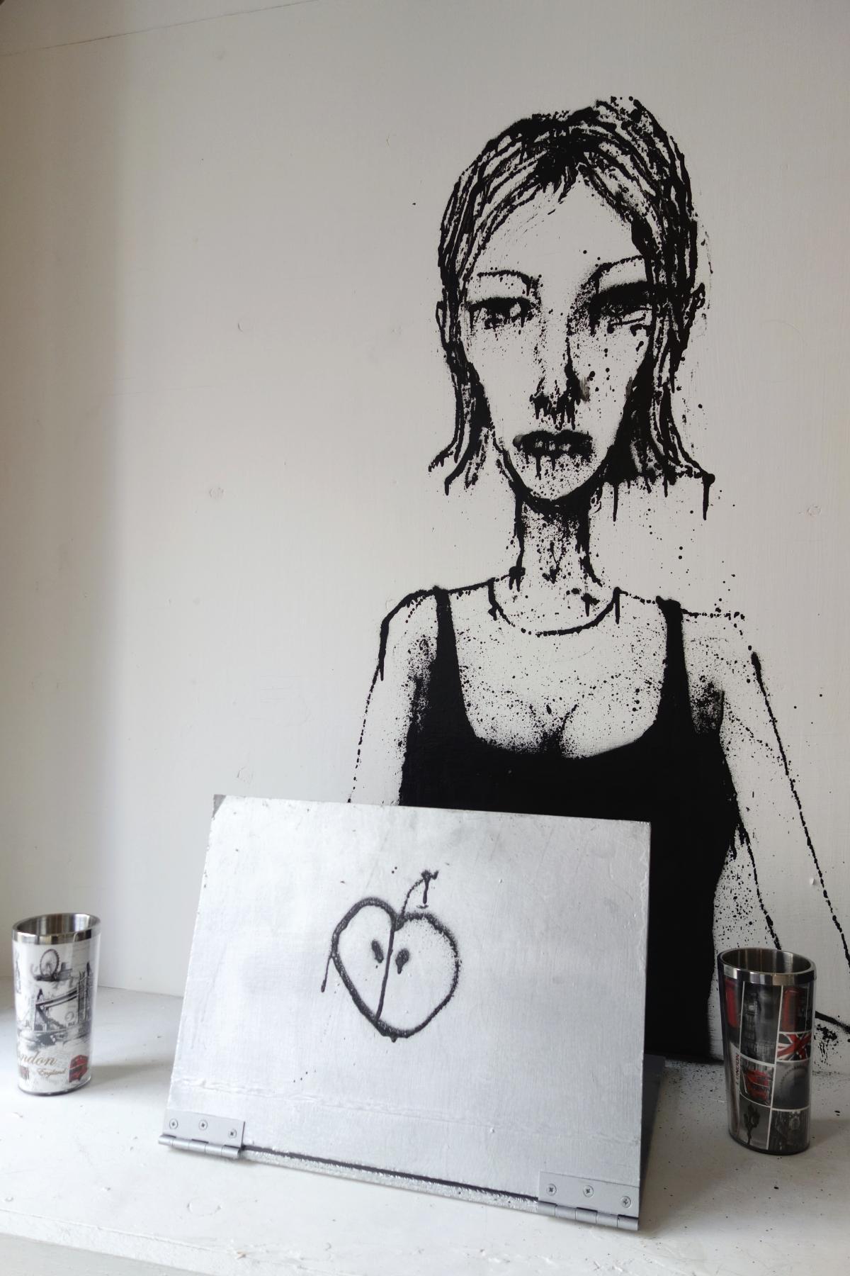 Gallery receptionist.
