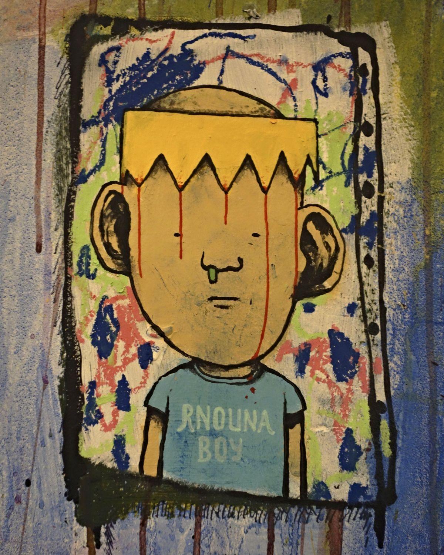 'Rnouna Boy' (Snot / Mucus Boy)