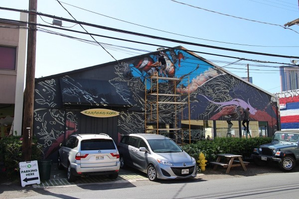POW! WOW! '15 / Streets: Mural Overview (Part I)